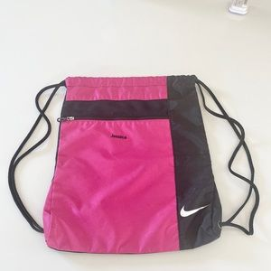 Nike 'Jessica' embroidered Drawstring Backpack